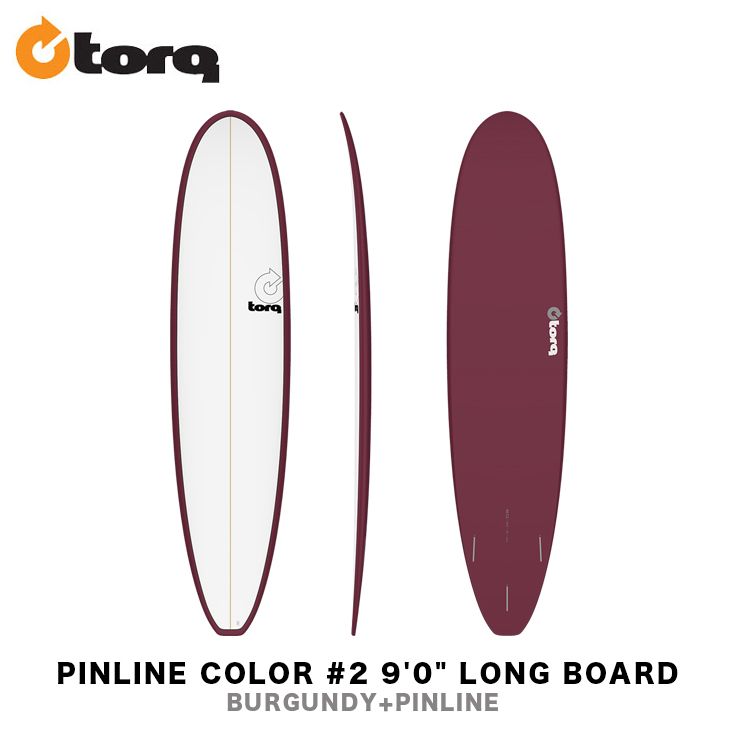 TORQ SURFBOARDS トルク サーフボード PINLINE COLOR #2 9'0