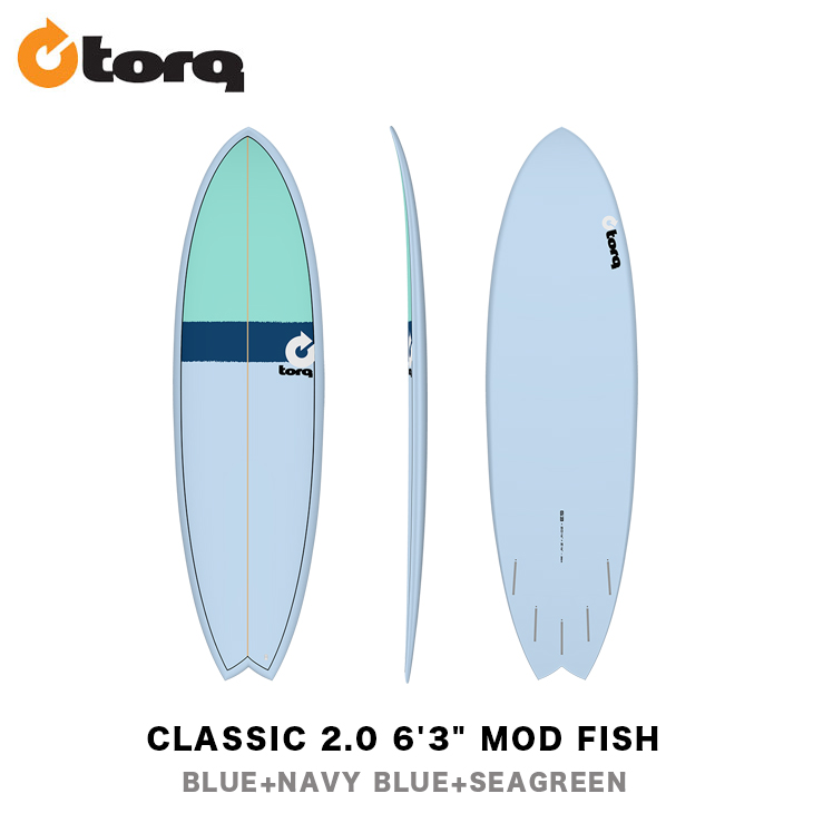 TORQ SURFBOARDS トルク サーフボード CLASSIC 2.0 6'3