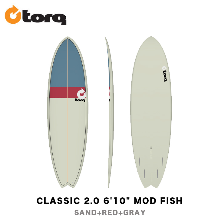 TORQ SURFBOARDS トルク サーフボード CLASSIC 2.0 6'10