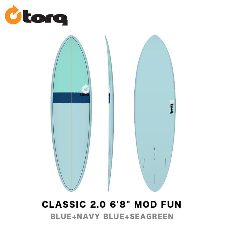 TORQ SURFBOARDS トルク サーフボード CLASSIC 2.0 6'8