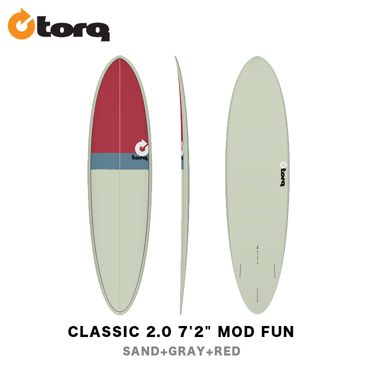 TORQ SURFBOARDS トルク サーフボード CLASSIC 2.0 7'2