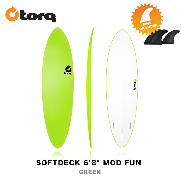 TORQ SURFBOARDS トルク サーフボード SOFTDECK 6'8