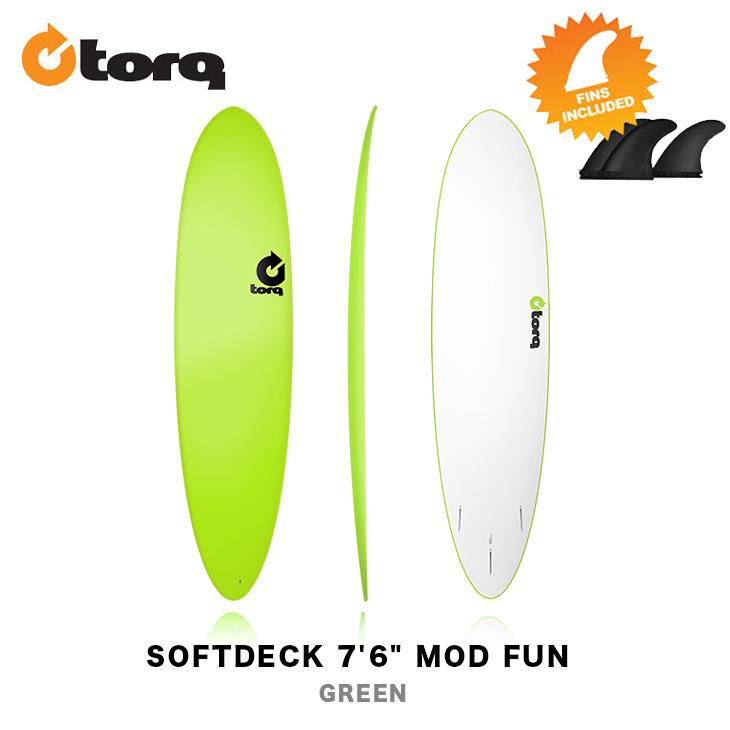 TORQ SURFBOARDS トルク サーフボード SOFTDECK 7'6