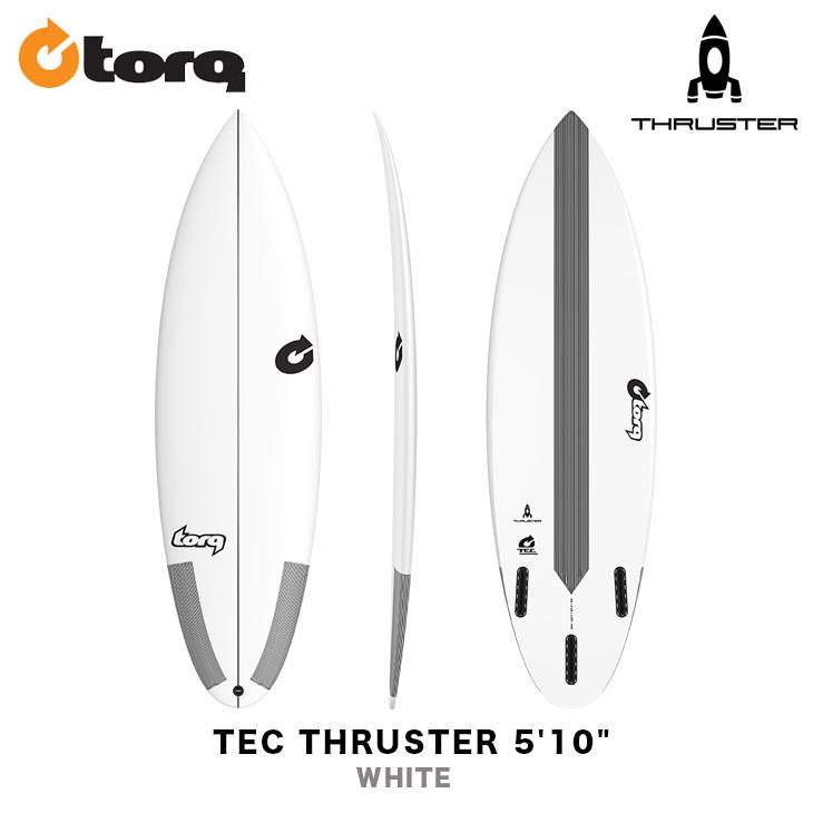 TORQ SURFBOARDS トルク サーフボード TEC THRUSTER 5'10
