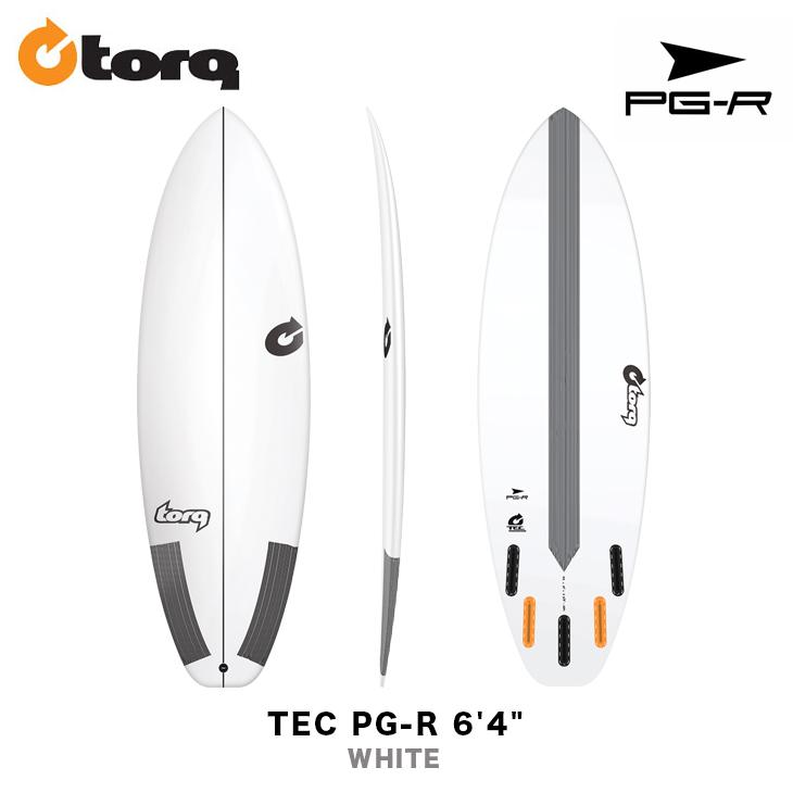 TORQ SURFBOARDS トルク サーフボード TEC PG-R 6'4