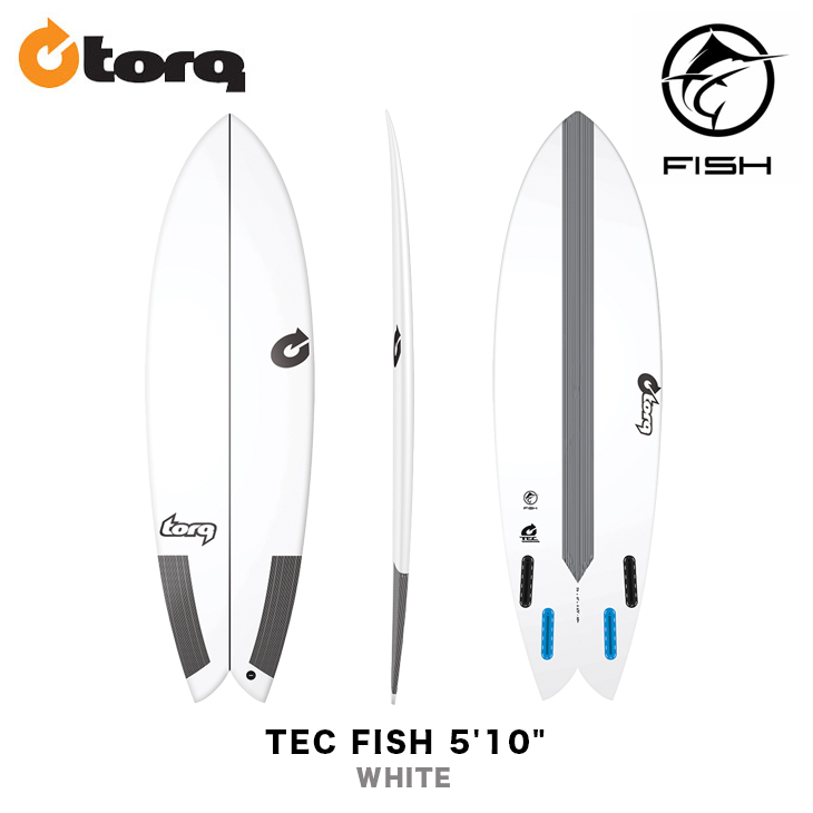 TORQ SURFBOARDS トルク サーフボード TEC FISH 5'10