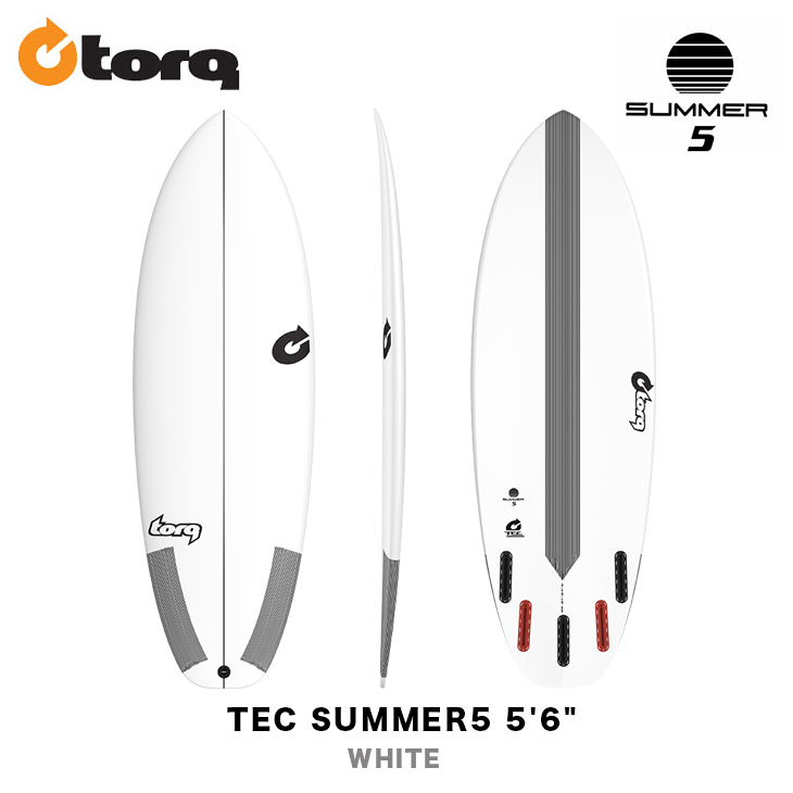 TORQ SURFBOARDS トルク サーフボード TEC SUMMER5 5'6
