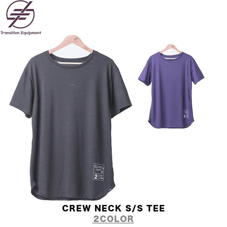 TRANSITION EQUIPMENT トランジション エキップメント CREW NECK S/S TEE クルーネック ショートスリーブ Tシャツ