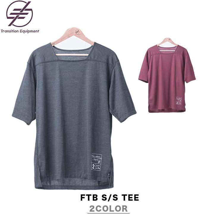 TRANSITION EQUIPMENT トランジション エキップメント FTB S/S TEE フットボール ショートスリーブ Tシャツ