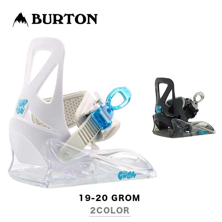 BURTON バートン ビンディング 19-20 GROM グロム スノーボード キッズ 【正規品】【送料無料】【早期予約特典多数】