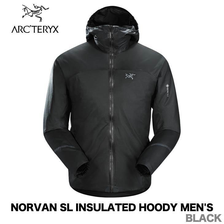 ARC'TERYX アークテリクス NORVAN SL INSULATED HOODY MEN'S ノーバン SL インサレーテッド フーディー メンズ