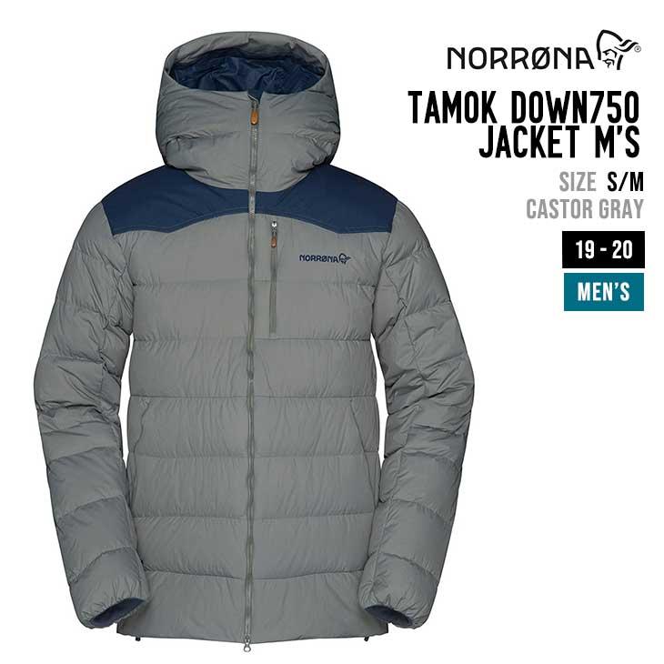NORRONA ノローナ 19-20 TAMOK DOWN750 JACKET M'S タモック ダウン 750 ジャケット メンズ