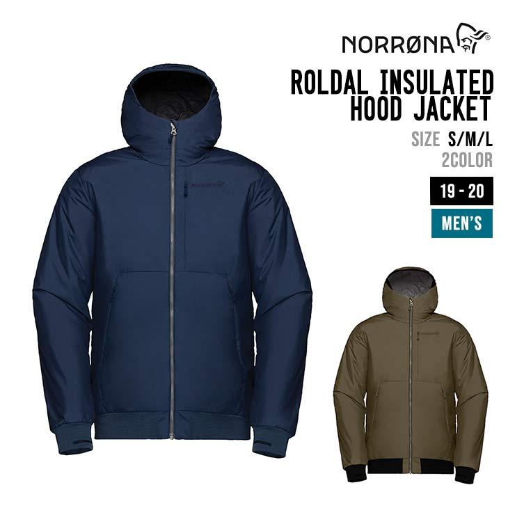 NORRONA ノローナ 19-20 ROLDAL INSULATED HOOD JACKET ロールダル インサレーテッド フード ジャケット