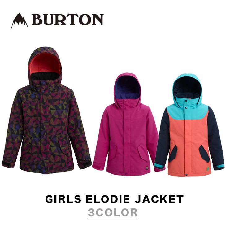 BURTON バートン ウエア 19-20 GIRLS ELODIE JACKET ジャケット ガールズ キッズ