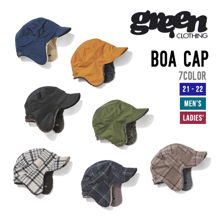 2021-2022 GREENCLOTHING スノーボード 定番で人気のボアキャップ GREEN ついに入荷 CLOTHING グリーンクロージング BOA 早期予約 キャップ 店舗 CAP ボア 21-22