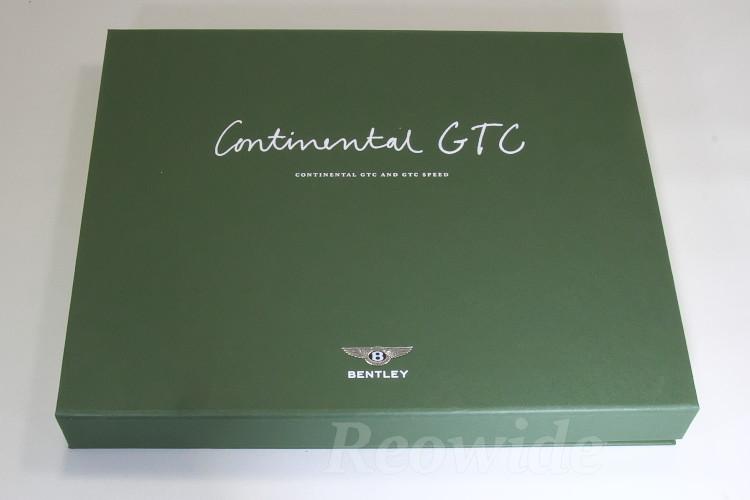 ベントレー コンチネンタル GTC / GTC スピード 専用 本カタログ 2010 MY2011 専用BOX