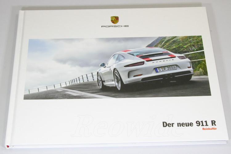 ポルシェ 911 R (991) ハードカバー カタログ ドイツ語 2016 911R