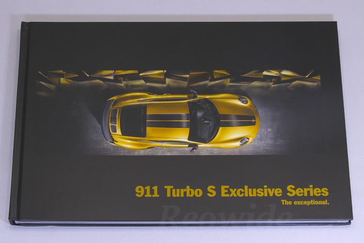 ポルシェ 911 (991) ターボ S エクスクルーシブ シリーズ ハードカバー カタログ 英語 2017 911 Turbo S Exclusive Series
