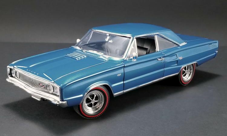 ACME 1/18 Dodge Coronet R/T HEMI 1967 Bright blue