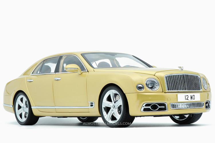 Almost Real 1 18 ベントレー ミュルザンヌ スピード 2017 ギフト イエロー Bentley 市場 Mulsanne Speed ジュレップ Julep Yellow