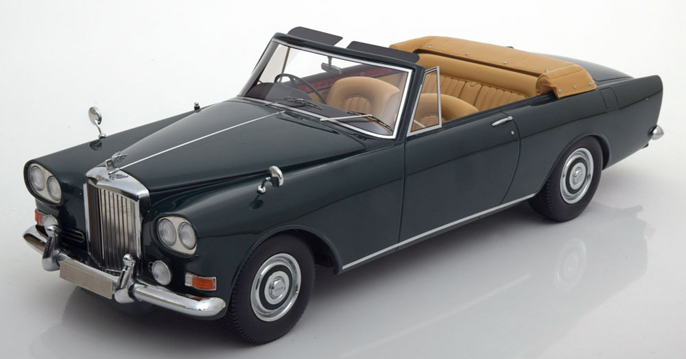 BOS 1/18 ベントレー S3 パークウォード DHC コンバーチブル 1963 ダークグリーン 504台限定 Bentley S3 Park Ward Convertible darkgreen Limited Edition 504 pcs