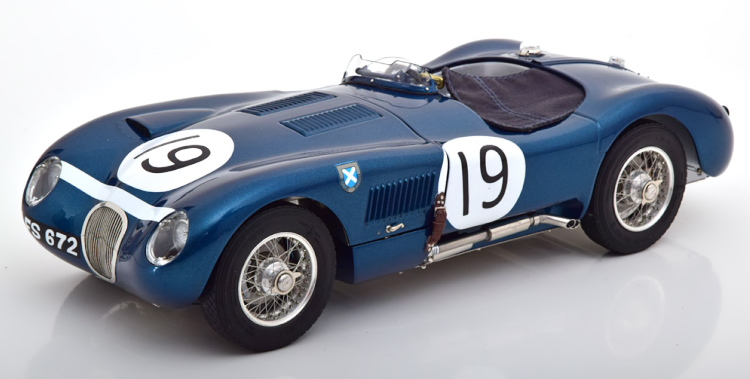 CMC 1/18 ジャガー Cタイプ #19 グッドウッド 1954 Jaguar C-Type #19 Goodwood Member's Meeting 1954 Jimmy Stewart