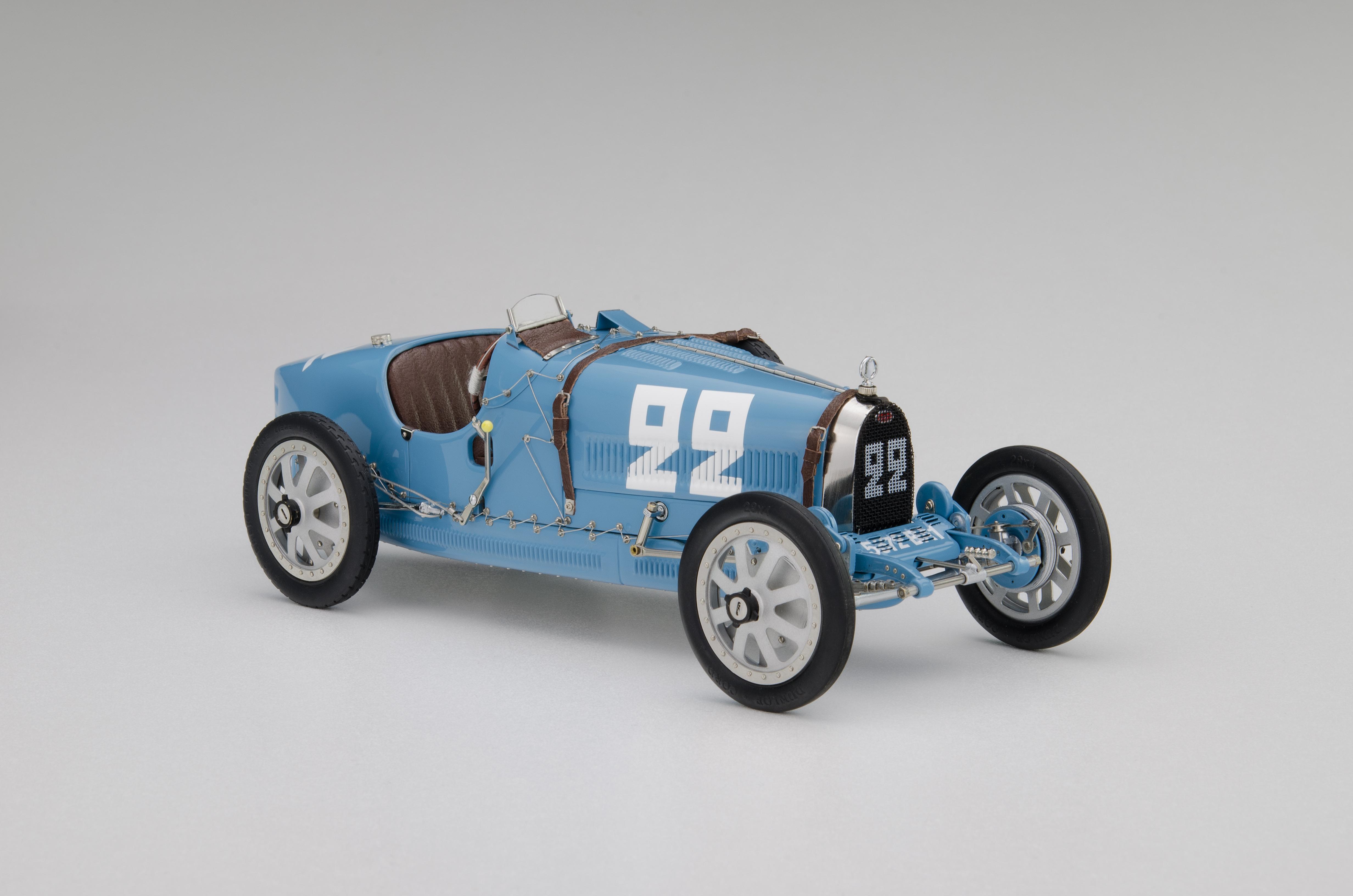 CMC 1/18 ブガッティ T35 #22 ネーションカラープロジェクト フランス 1924 BUGATTI - T35 N 22 NATION COULOR PROJECT FRANCE 1924 LIGHT BLUE