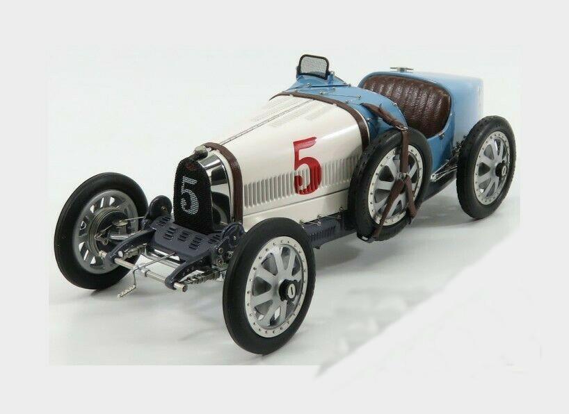 CMC 1/18 ブガッティ T35 #5 ネーションカラープロジェクト アルゼンチン 1924 BUGATTI - T35 N 5 NATION COULOR PROJECT ARGENTINA 1924 LIGHT BLUE WHITE