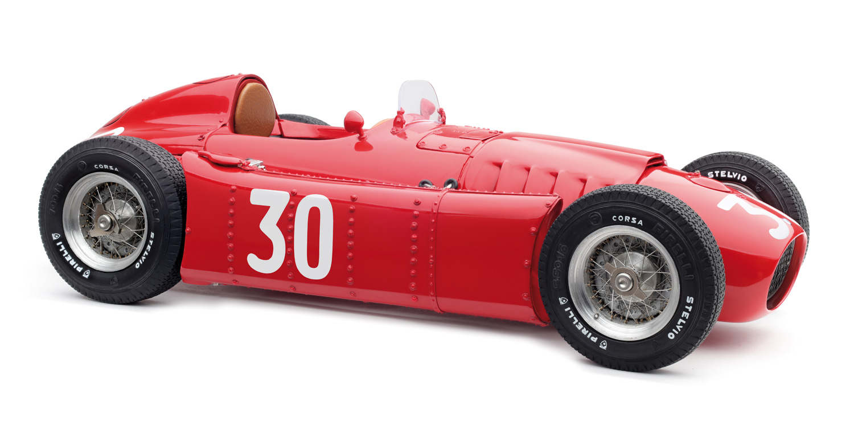 CMC 1/18 ランチア F1 D50 #30 モナコGP 1955 LANCIA - F1 D50 N 30 MONACO GP 1955 EUGENIO CASTELLOTTI RED