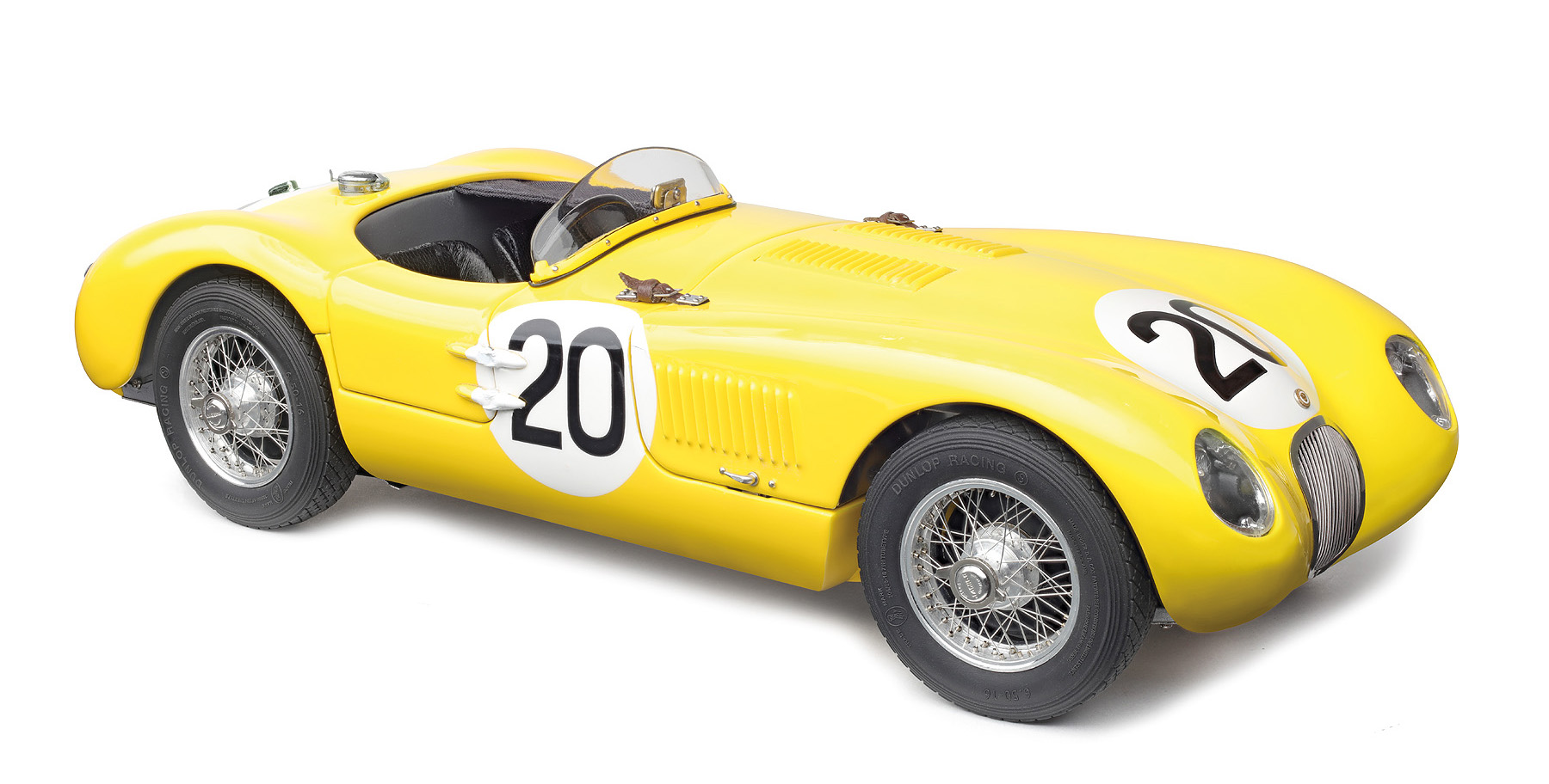 CMC 1/18 ジャガー Cタイプ スパイダー #20 ルマン24時間 1953 JAGUAR - C-TYPE SPIDER TEAM JAGUAR RACING N 20 24h LE MANS 1953 R.LAURENT - C.DE TORNACO
