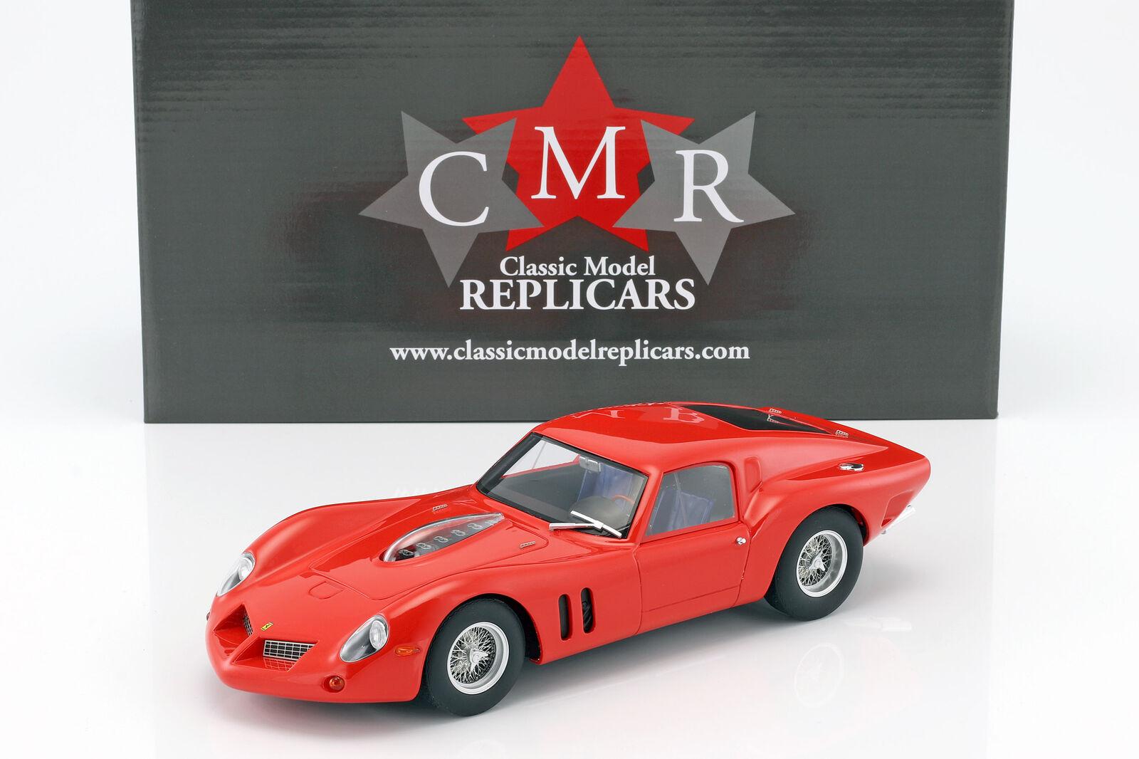 CMR 1/18 フェラーリ 250 GT ドロゴ プレーンボディ バージョン レッド Ferrari 250 GT Drogo Plain Body Version red