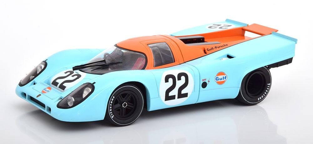 CMR 1/18 ポルシェ 917K ジョン ワイヤー チーム オートモーティヴ エンジニアリング GULF #22 ルマン 1970 PORSCHE - 917K TEAM JOHN WYER AUTOMOTIVE ENGINEERING GULF N 22 24h LE MANS 1970 D.HOBBS - M.HAILWOOD