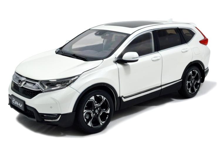 ホンダ特注 1/18 ホンダ CR-V CRV 2018 ホワイト Paudi model パウディモデル