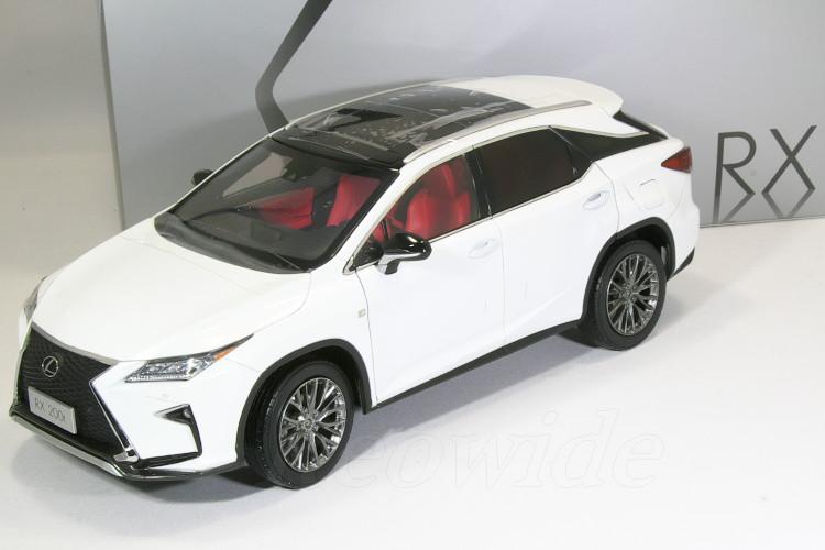 レクサス特注 1/18 レクサス RX 200t 2016 ソニッククォーツ (ホワイト) RX200t