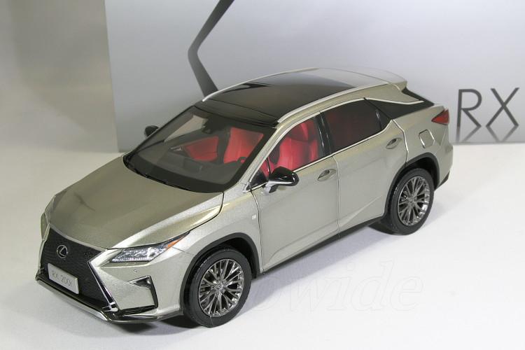 レクサス特注 1/18 レクサス RX 200t ソニックチタニウム 2016 RX200t