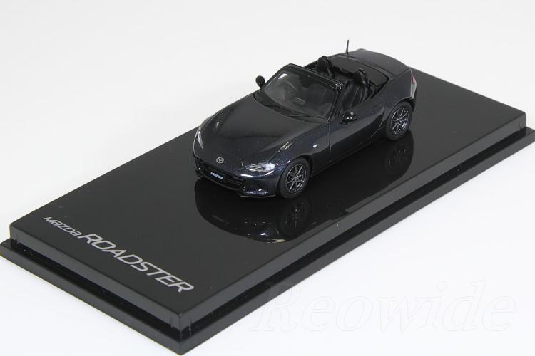 マツダ特注 1/64 マツダ ロードスター 2015 ジェットブラックマイカ MX-5 ND