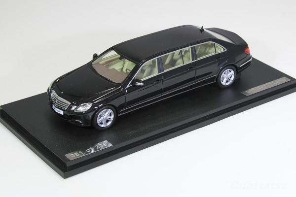 GLM 1/43 メルセデス・ベンツ W212 ロング リムジン ブラック 299台限定 Eクラス BINZ