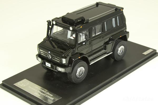 GLM 1/43 ベンツ ウニモグ ワゴン U5000 2012 ブラック 408台限定