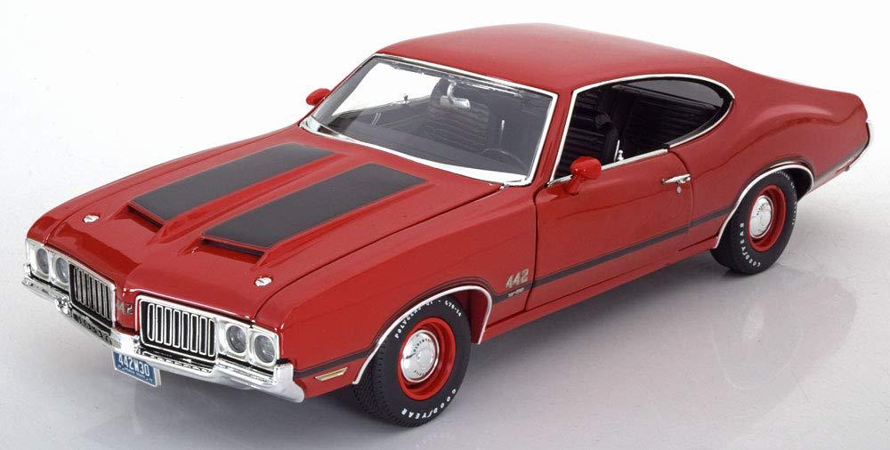 GMP 1/18 オールズモビル 442 W-30 1970 レッド ブラック 開閉 396台限定 Oldsmobile 442 W-30 1970 rot/schwarz Limited Edition 396 pcs.