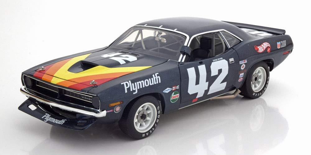 GMP 1/18 プリムス バラクーダ #42 トランザム 1970 Savage 開閉 696台限定 Plymouth Barracuda No.42, Trans Am 1970 Savage Limited Edition 696 pcs