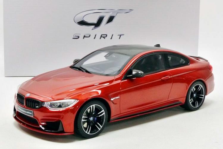 GT SPIRIT 1/18 BMW M4 Mパフォーマンス オレンジメタリック M Performance 504台限定 orange-metallic/carbon
