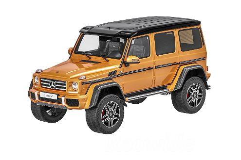 GT スピリット ベンツ特注 1/18 メルセデス・ベンツ Gクラス G500 4x4² サンセットビーム Mercedes-Benz G 500 4×4 Sunsetbeam クレイジーカラー 463台限定