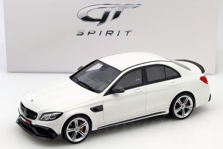 GT スピリット 1/18 メルセデス・ベンツ ブラバス 650 2015 ホワイト 504台限定 C63