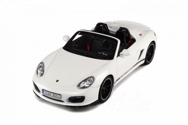 GT スピリット 1/18 ポルシェ ボクスター スパイダー 987 ホワイト