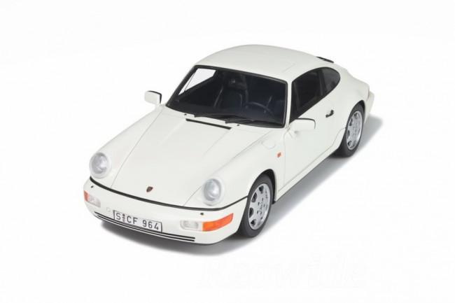 GT スピリット 1/18 ポルシェ 911 964 カレラ4 1989 ホワイト Porsche 911 (964) Carrera 4