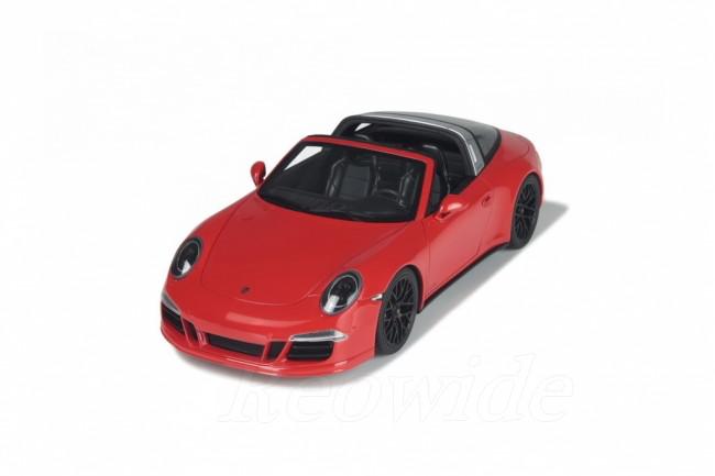 GT スピリット 1/18 ポルシェ 911 991 タルガ GTS レッド 2014