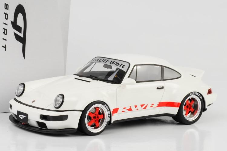 GT スピリット 1/18 ポルシェ 911 964 RWB ダックテール ホワイト