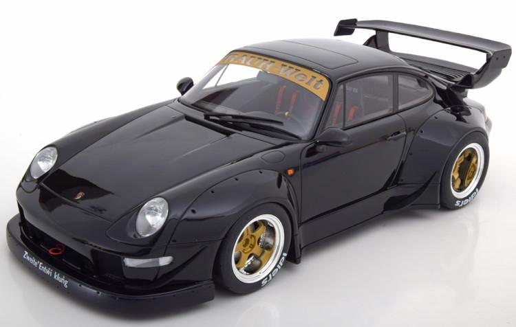 993 GT BLACK 1:18 GT Spirit PORSCHE 911