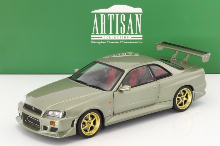 【国内正規品】 Greenlight 1/18 1/18 日産 R34 スカイライン 1999 GT-R GT-R 1999 グリーン, 新篠津村:84faab81 --- clftranspo.dominiotemporario.com
