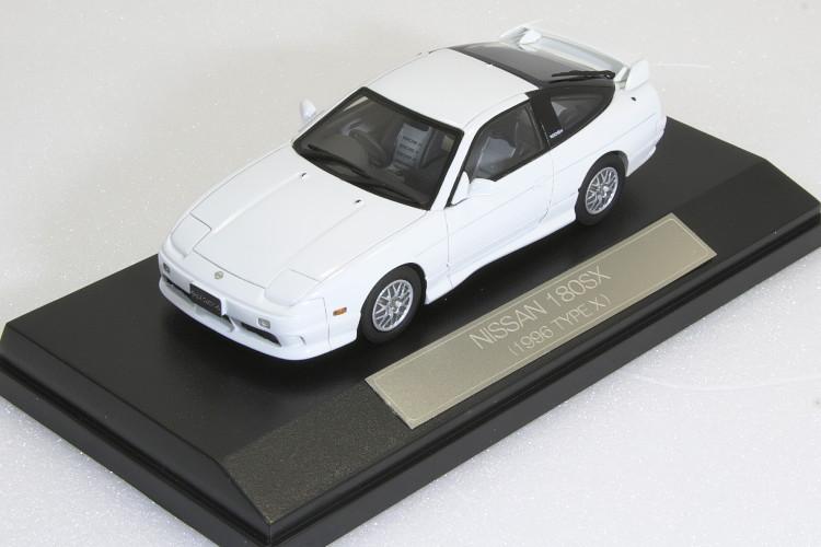 Hi-Story 1/43 日産 180SX 1996 タイプX ホワイト